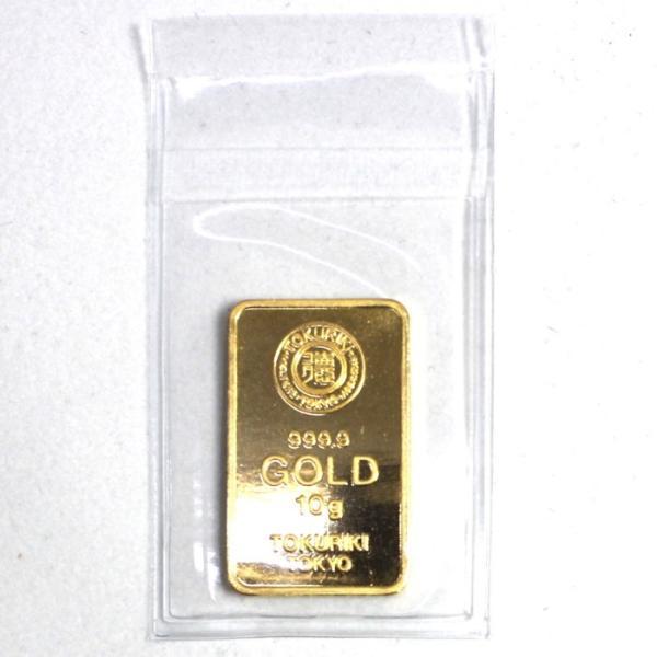 純金 インゴット 徳力 10g K24 新品 未開封 TOKURIKI INGOT 公式国際ブランド グッドデリバリー バー ゴールド バー 送料無料 bijou-shop 04