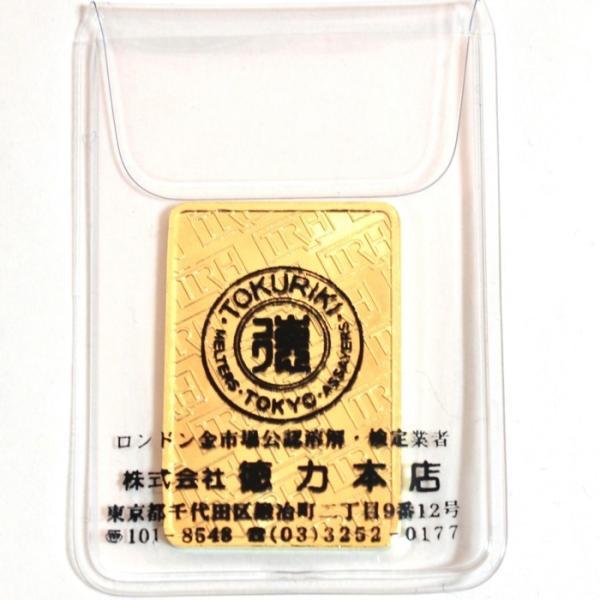 純金 インゴット 徳力 20g 新品未開封 K24 TOKURIKI INGOT 公式国際ブランド グッドデリバリー バー ゴールド バー 送料無料|bijou-shop|03