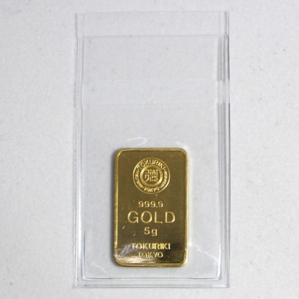 純金 インゴット 徳力 5g K24 新品 未開封 TOKURIKI INGOT 公式国際ブランド グッドデリバリー バー ゴールド バー 送料無料|bijou-shop|03