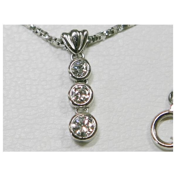 PT900 ダイヤ ベネチアン ネックレス 0.29ct 5.43g トリロジー|bijou-shop