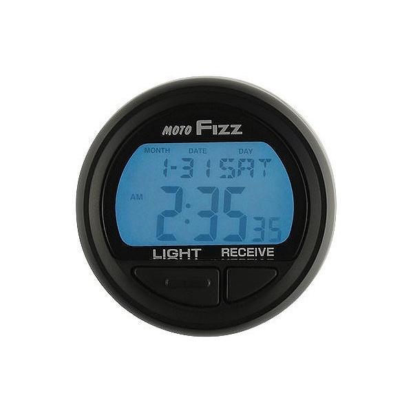 タナックス tanax MF-4672 電波クロック ブラック 電波時計|bikeman2|02