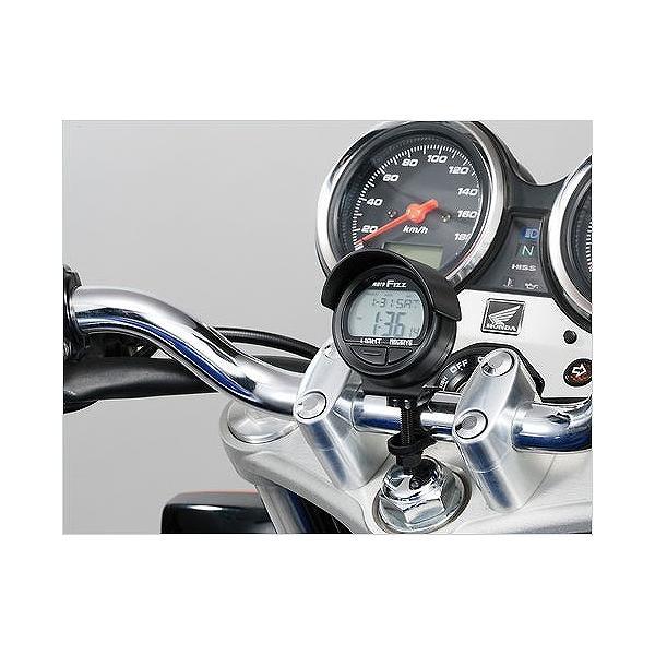タナックス tanax MF-4672 電波クロック ブラック 電波時計|bikeman2|03