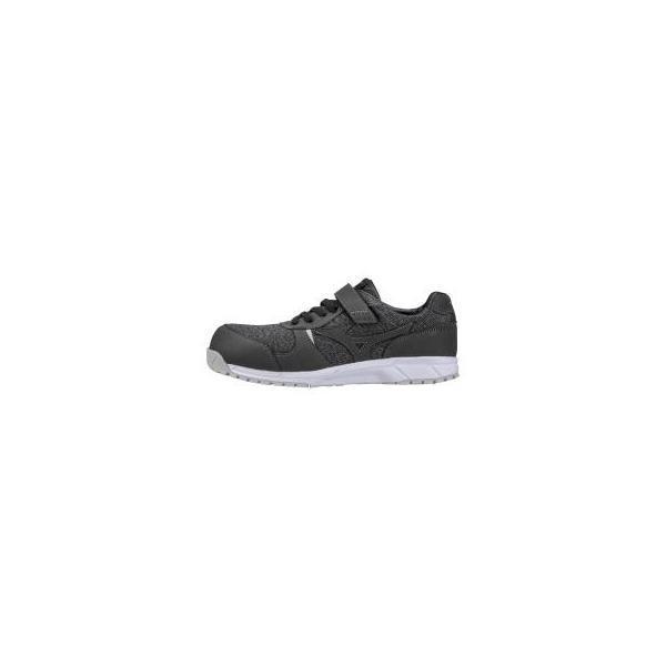 ミズノ F1GA1904 オールマイティ FS32L 安全靴 作業靴 ワーキングシューズ レディース プロテクティブスニーカー ブラック ブラック 24.5cm