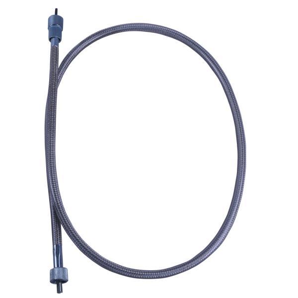 Z400FXタコメーターケーブル純正長メッシュ