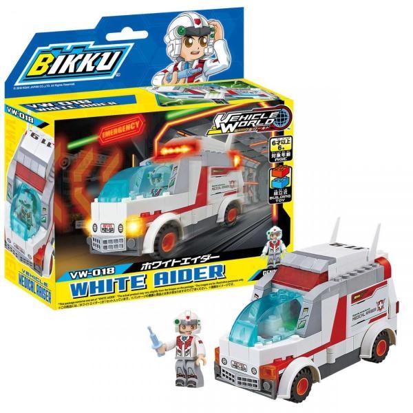 ビック(BIKKU)ビークルワールドシリーズ3ホワイトエイダーVW-018 bikku