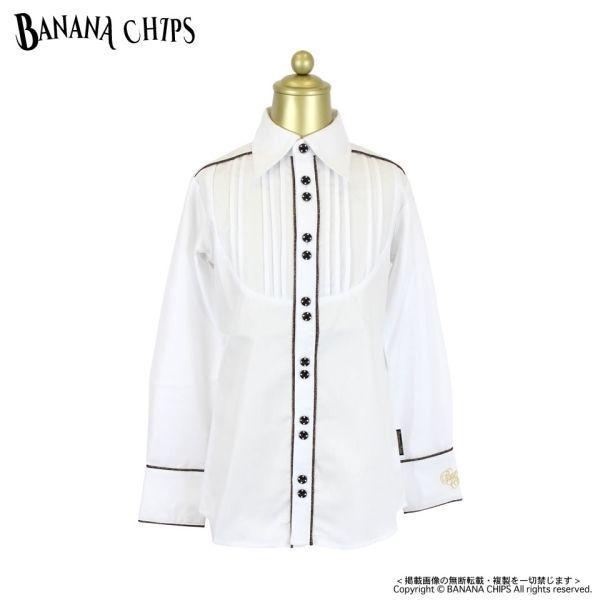 80%OFF セール 【返品・交換不 可】 BANANA CHIPS バナナチップス 子供服 ピンタックシャツ
