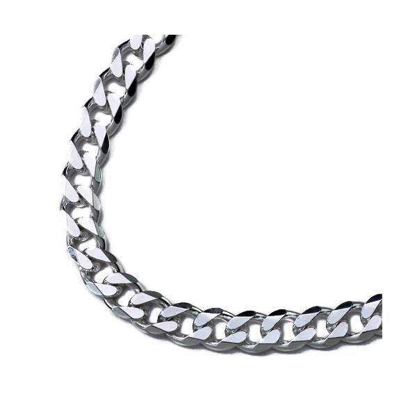 (太め)6.5mm6面カット喜平ネックレスチェーンネックレス50cm ネックレス メンズ シルバー925 アクセサリー