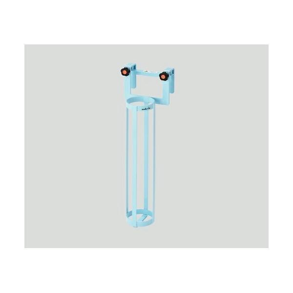 ナビス(アズワン) 酸素ボンベラック(ベッド用)ブルー BB-B