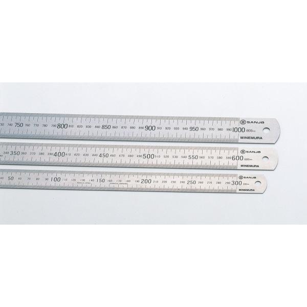 ステンレス定規 300mm 文具・コンパス・定規・はさみ・ペン
