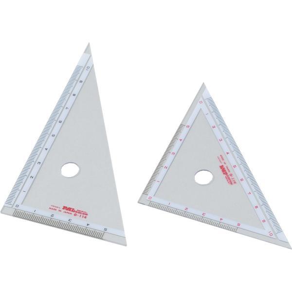 三角定規(10cm) 文具・コンパス・定規・はさみ・ペン