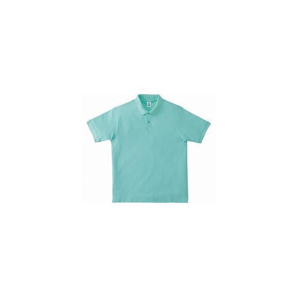 鹿の子ドライポロシャツ MS3113 ミントグリーン L ボンマックス O0652