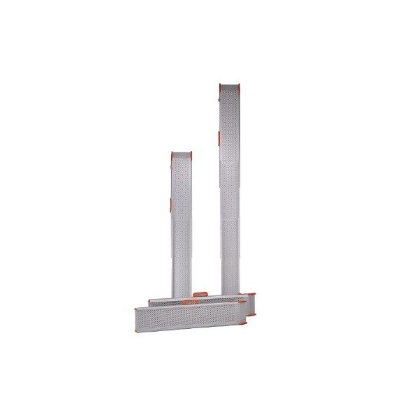 ポータブルスロープ スライドスロープ 2m (2本1組) (ESK200R) イーストアイ  W1040