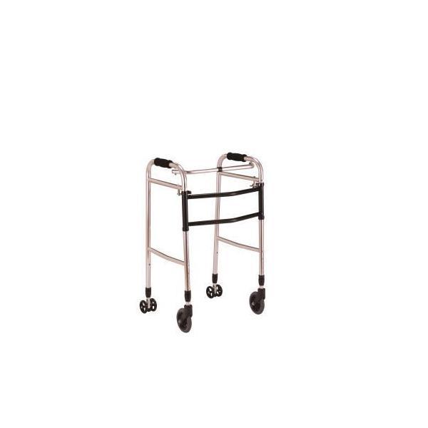 無料健康/介護相談サービス対象製品 クリスタル産業 交互歩行器(折り畳み型) AL-102