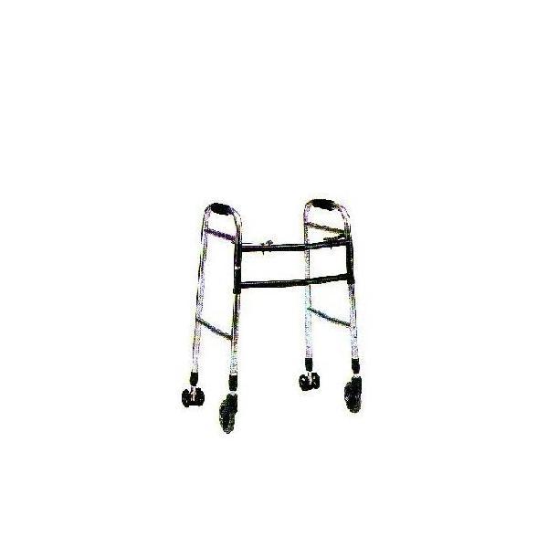 無料健康/介護相談サービス対象製品 クリスタル産業 交互歩行器(折り畳み型) AL-107