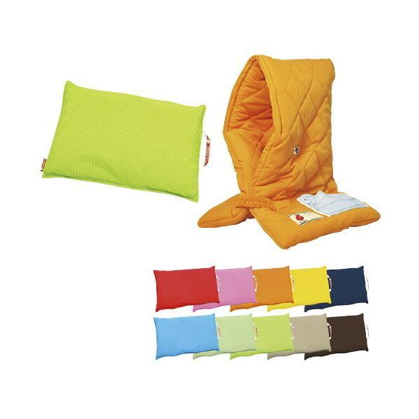 防災クッション(防災頭巾+カバー)   ビビッドレッド