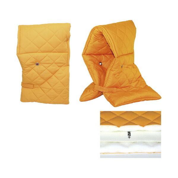 ズキメット(貫通防止仕様防災頭巾)  8001(オレンジ)