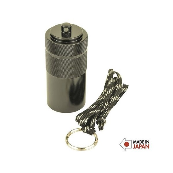 A&F エイアンドエフ アッシュコンテナ ブラック 携帯灰皿 定形外送料無料 代引き不可