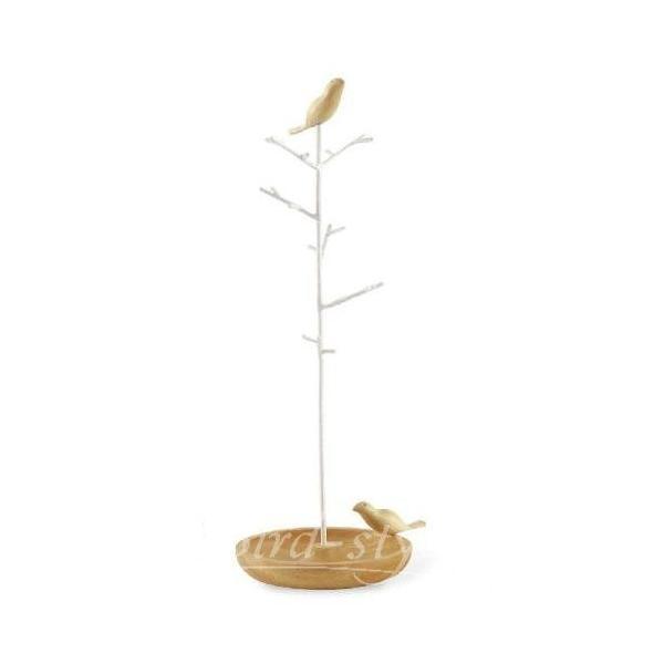 鳥 雑貨 グッズ/小鳥のアクセサリースタンド bird-style