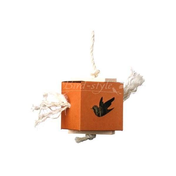 インコ 鳥 おもちゃ/ボールインボックス 大|bird-style