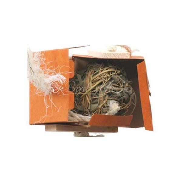 インコ 鳥 おもちゃ/ボールインボックス 大|bird-style|02