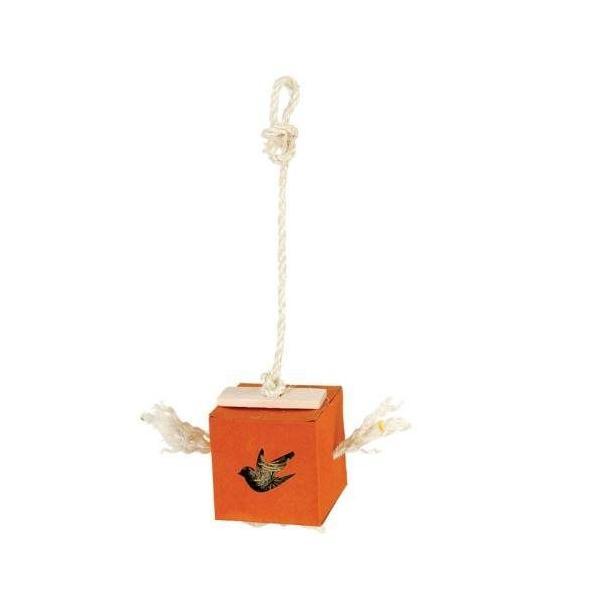 インコ 鳥 おもちゃ/ボールインボックス 大|bird-style|04