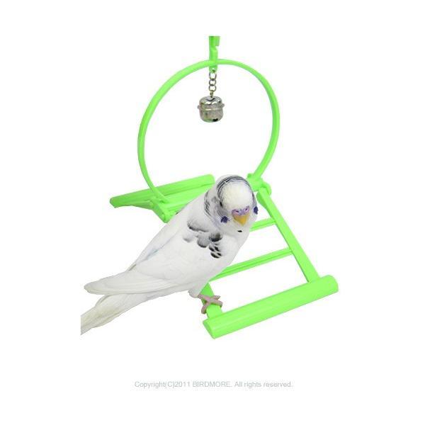 コバヤシ   スイング 鈴付き   9991066(色指定は出来ません) BIRDMORE バードモア 鳥用品 鳥グッズ 鳥 インコ エサ 餌入れ おもちゃ
