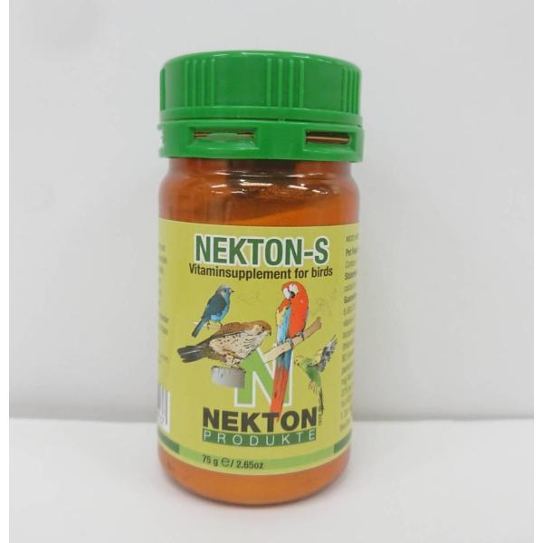 ネクトンS 75g  ( BIRDMORE バードモア 鳥用品 鳥グッズ サプリメント 栄養 ビタミン 鳥 とり トリ インコ オウム プレゼント )|birdmore