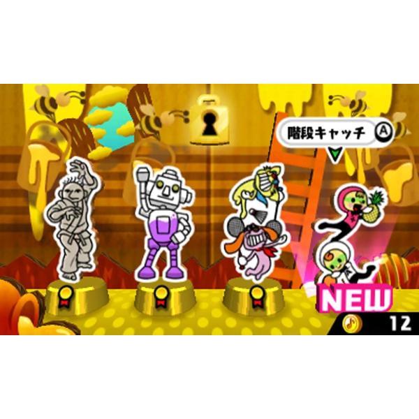 リズム天国 ザ・ベスト+ 3DS 新品 ソフト birds-eye 02