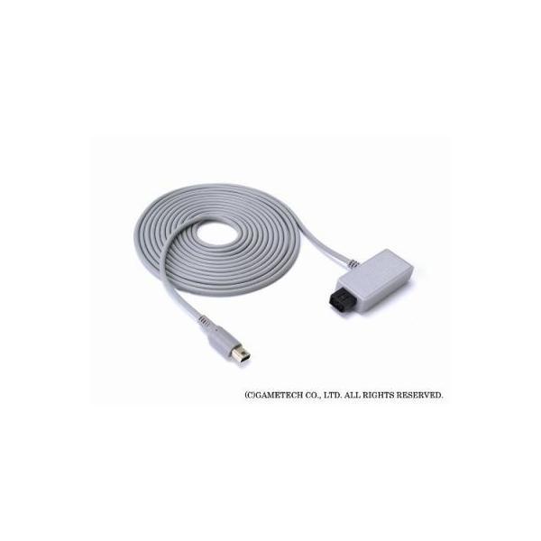 WiiU ゲームパッド用電源ケーブル USBもACもいりま線U 新品|birds-eye|03