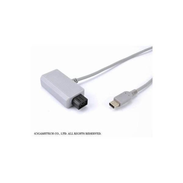 WiiU ゲームパッド用電源ケーブル USBもACもいりま線U 新品|birds-eye|04