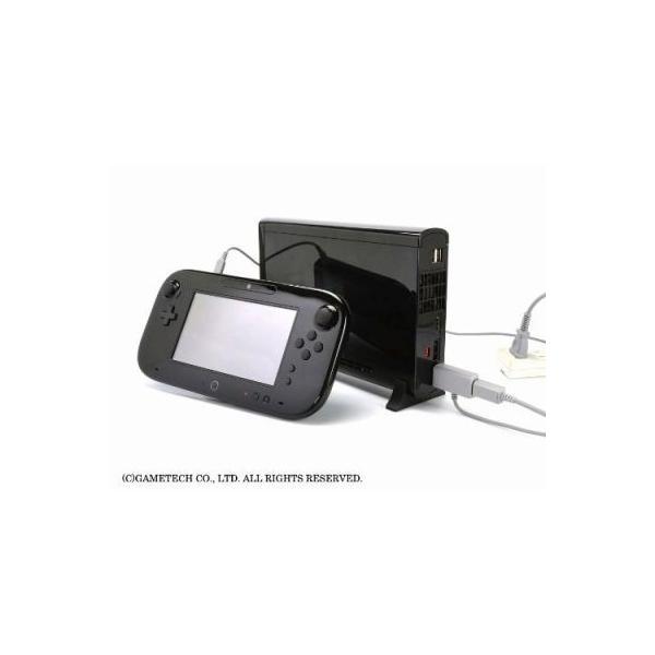WiiU ゲームパッド用電源ケーブル USBもACもいりま線U 新品|birds-eye|05