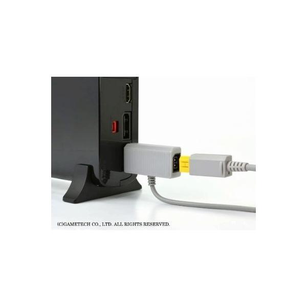 WiiU ゲームパッド用電源ケーブル USBもACもいりま線U 新品|birds-eye|06
