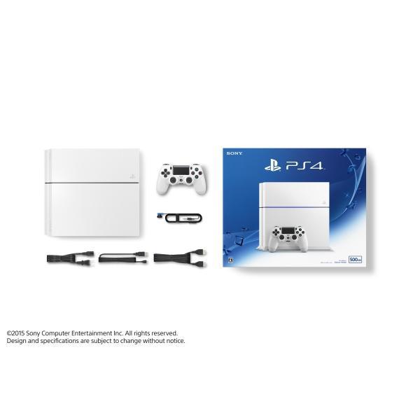 PS4本体(グレイシャー・ホワイト)CUH-1200AB PS4本体 新品|birds-eye|02