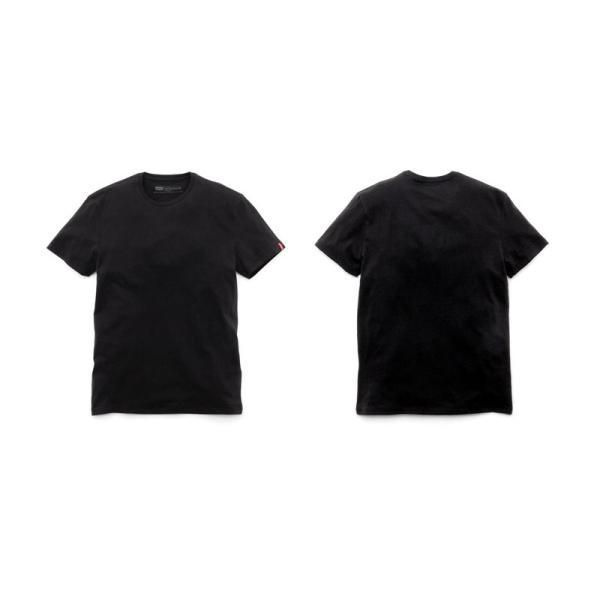 リーバイス Levi's メンズ 半袖 Tシャツ ムジ ベーシック 白 黒 丸首 定番 人気 メンズ レッドタブ LEVIS 66547 2Pack クルーネック 無地 Tシャツ|birigo|03