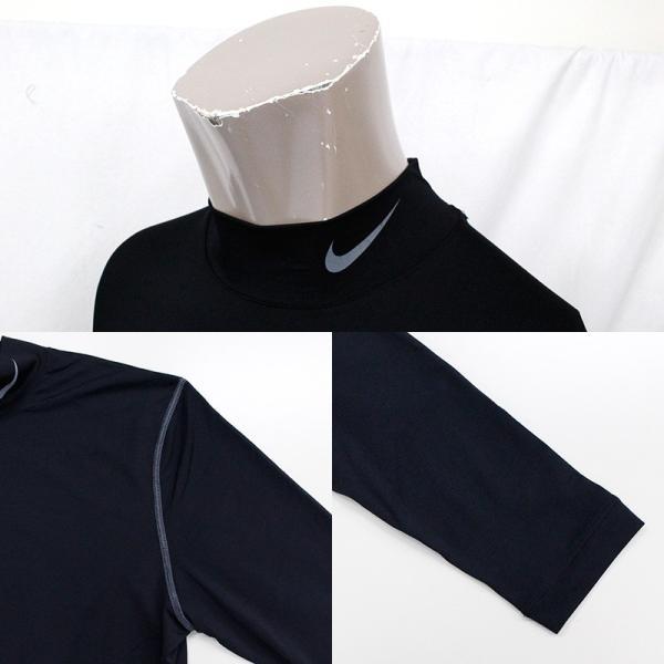 ナイキ ゴルフ メンズ インナー NIKE GOLF 456844 DRI-FIT UV モックネック アンダーレイヤー|birigo|04