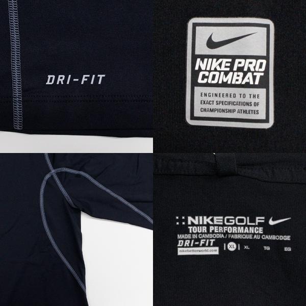 ナイキ ゴルフ メンズ インナー NIKE GOLF 456844 DRI-FIT UV モックネック アンダーレイヤー|birigo|05