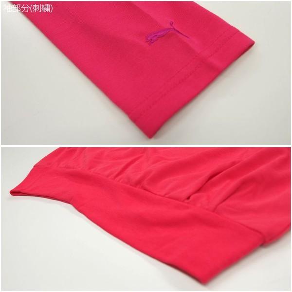 プーマ PUMA LADYS LSトップス 822745  レディース 長袖Tシャツ ヘンリーネック|birigo|03