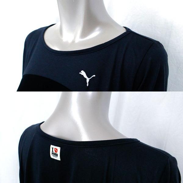 プーマ レディース ロンT 長袖 Tシャツ ロングスリーブ PUMA LADYS LS トップス 903026 ヨガ ウェア 女性 おしゃれ かわいい|birigo|02