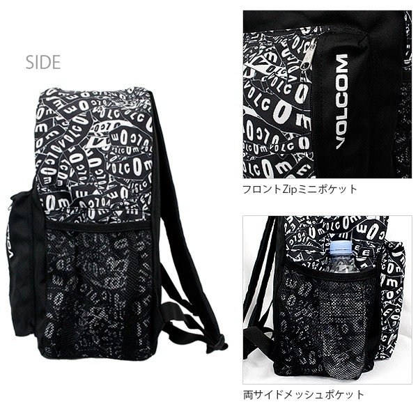 ボルコム カジュアル バックパック リュック 鞄 VOLCOM D64114JB JPN 1st  BACK PACK|birigo|06