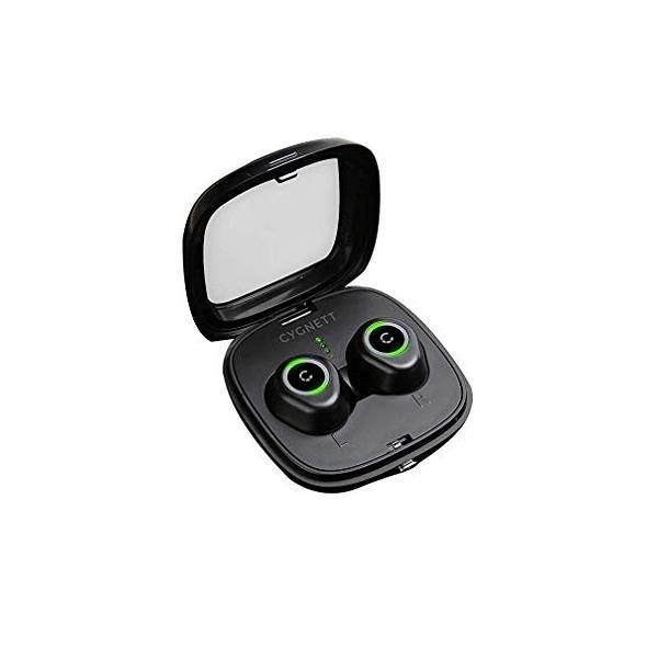 CygnettFreePlayBluetoothEarphones+RechargeableBatteryCase-Black並