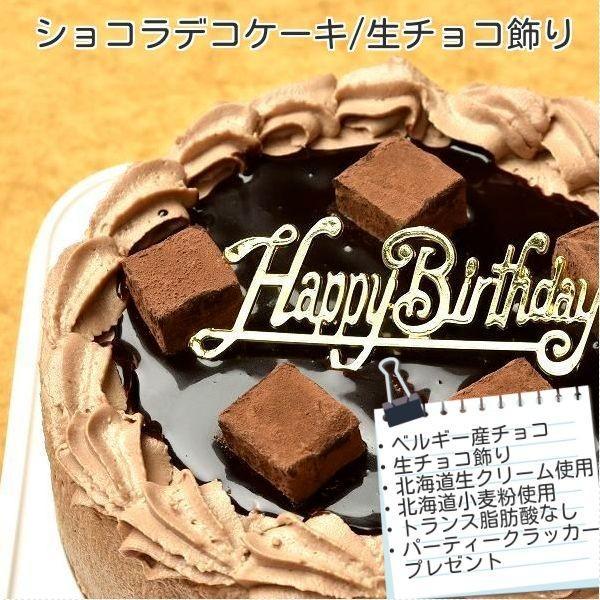 ケーキ スイーツ バースデーケーキ お誕生日ケーキ 生チョコ ショコラケーキ12号