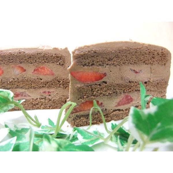 バースデーケーキ お誕生日ケーキ スイーツ ケーキ チョコ生苺ケーキ12号|birthdaycakes2004|02