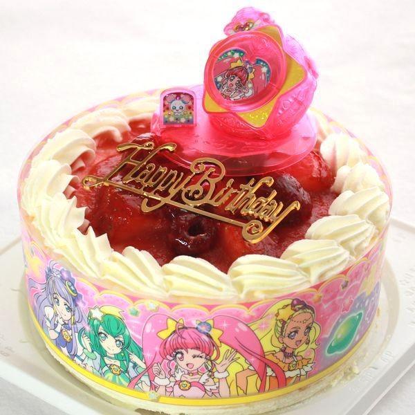 旧作品:スター☆トゥインクルプリキュア キャラデコお祝いケーキ スイーツ バースデーケーキ お誕生日ケーキ