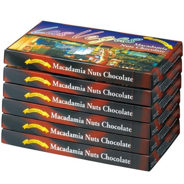 ラスベガス マカデミアナッツチョコレート 6箱セット ラスベガス人気 アメリカチョコ bisho
