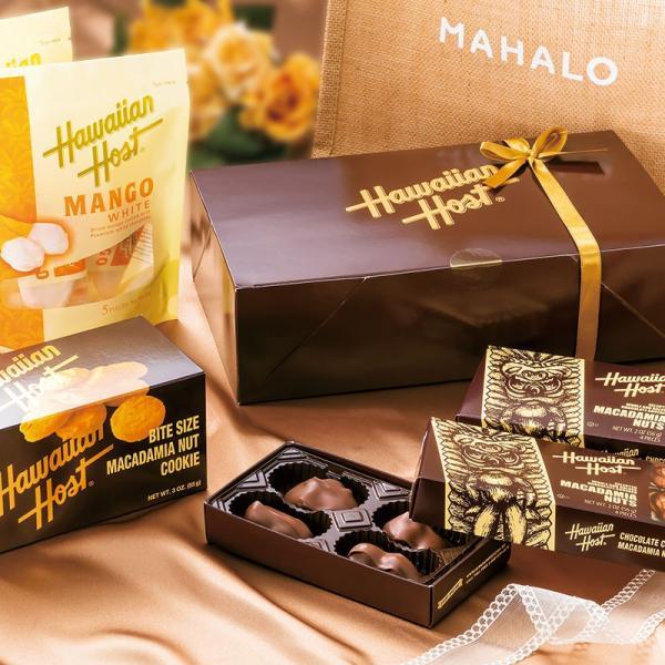 ハワイ ハワイアンホースト ギフトセット (ジュート袋・リボン付) ハワイ新婚旅行 ハワイ定番|bisho