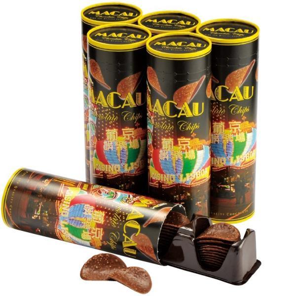 マカオ チョコチップス 6個セット  マカオ土産 マカオチョコ |bisho