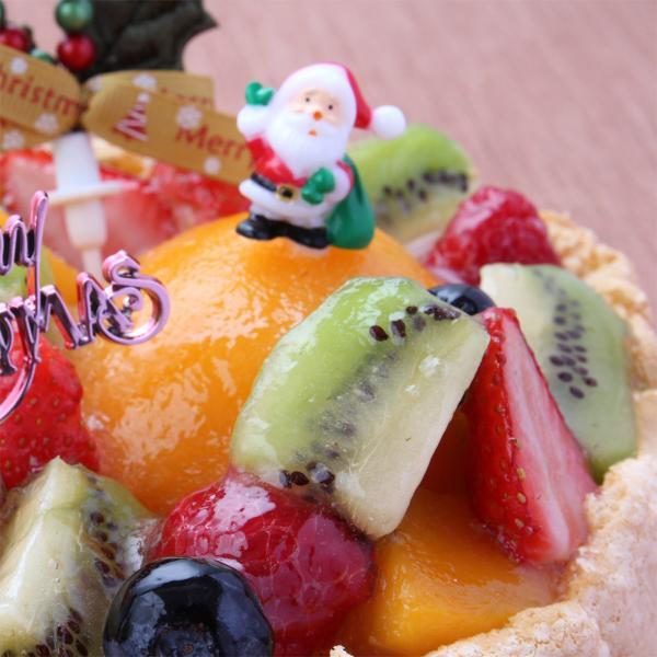 ★クリスマスケーキ予約2017★パティスリー「TakaYanai」X'mas フルーツケーキ 5号(4〜6名様用)[送料無料]|bishokuc|03