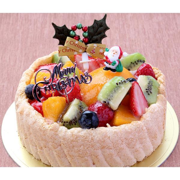 ★クリスマスケーキ予約2017★パティスリー「TakaYanai」X'mas フルーツケーキ 5号(4〜6名様用)[送料無料]|bishokuc|06