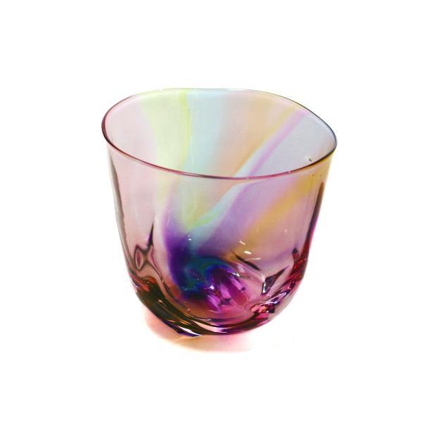 glass calico グラスキャリコ ハンドメイド ガラス酒器 ミナモプリズム ロックグラス ウイスキー 焼酎 カクテル 梅酒 グラス bisyukiya