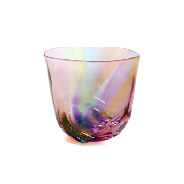 glass calico グラスキャリコ ハンドメイド ガラス酒器 ミナモプリズム ロックグラス ウイスキー 焼酎 カクテル 梅酒 グラス bisyukiya 02